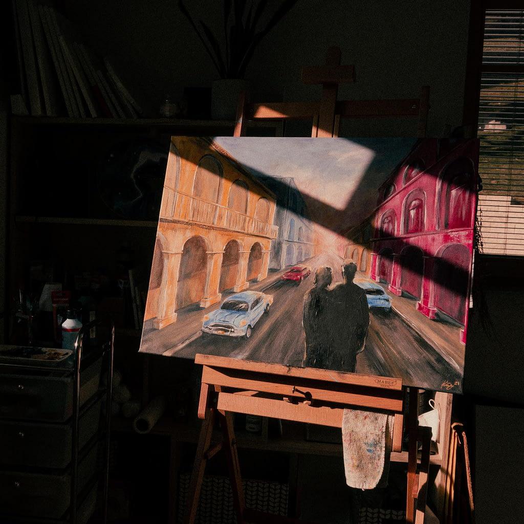 auftragsarbeit acrylmalerei